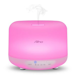 diffuseur huile essentielle-aiho-rose