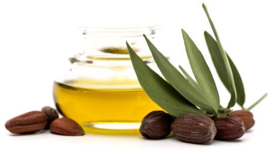 Huile de jojoba substrat pour huile essentielle de menthe poivrée