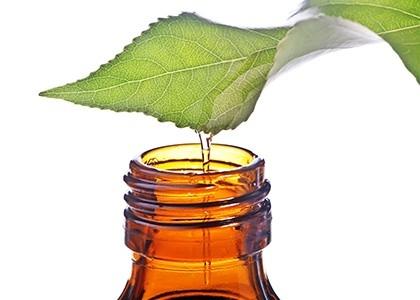huile essentielle pas cher feuille